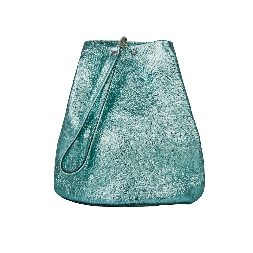 CRINKLE BUCKET BAG