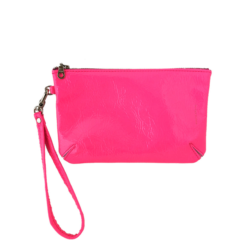 SPARKLE DOUBLE FACED WRISTLET POUCH SMALL