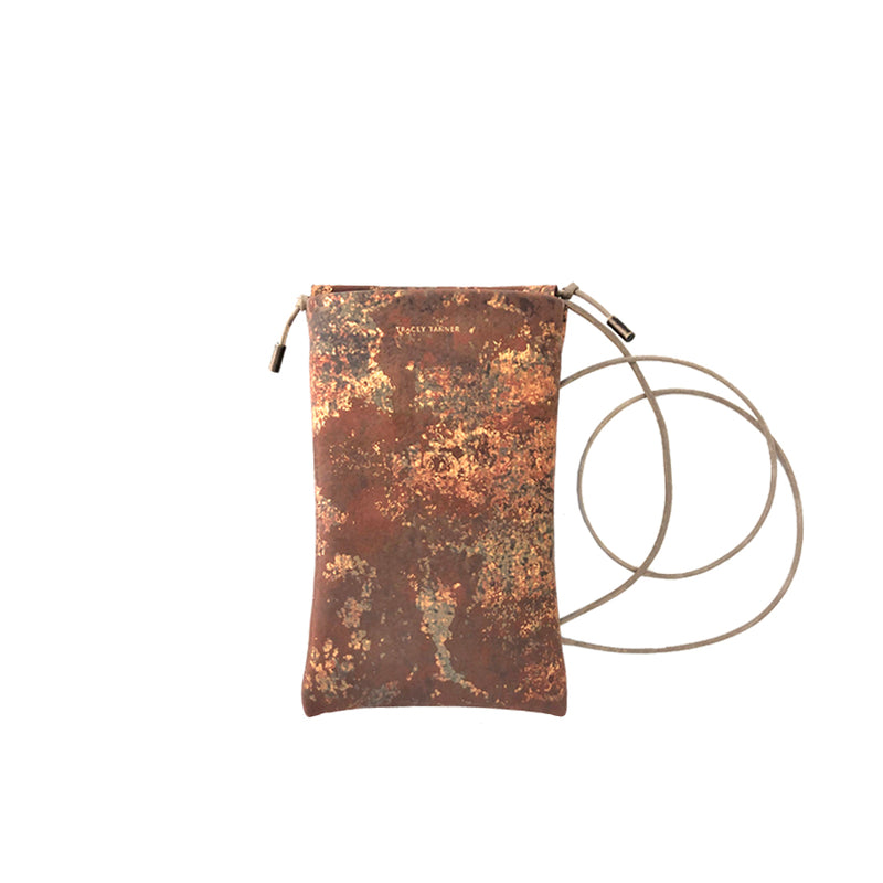 EXOTIC TIA CROSSBODY PHONE POUCH