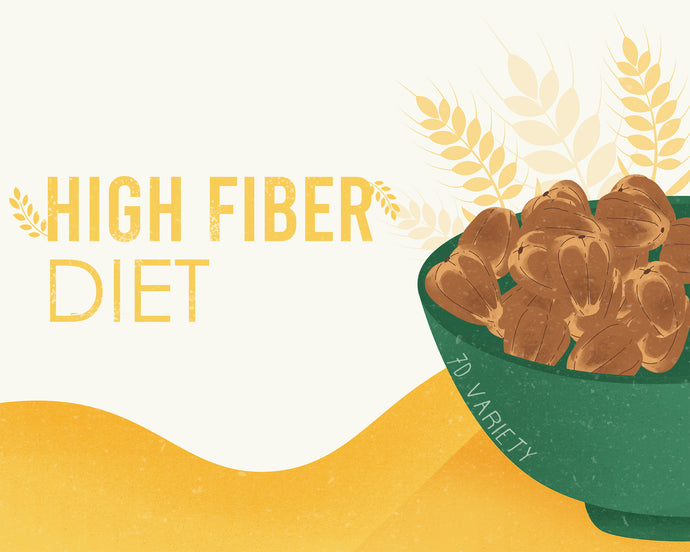 Dates in high fiber diet