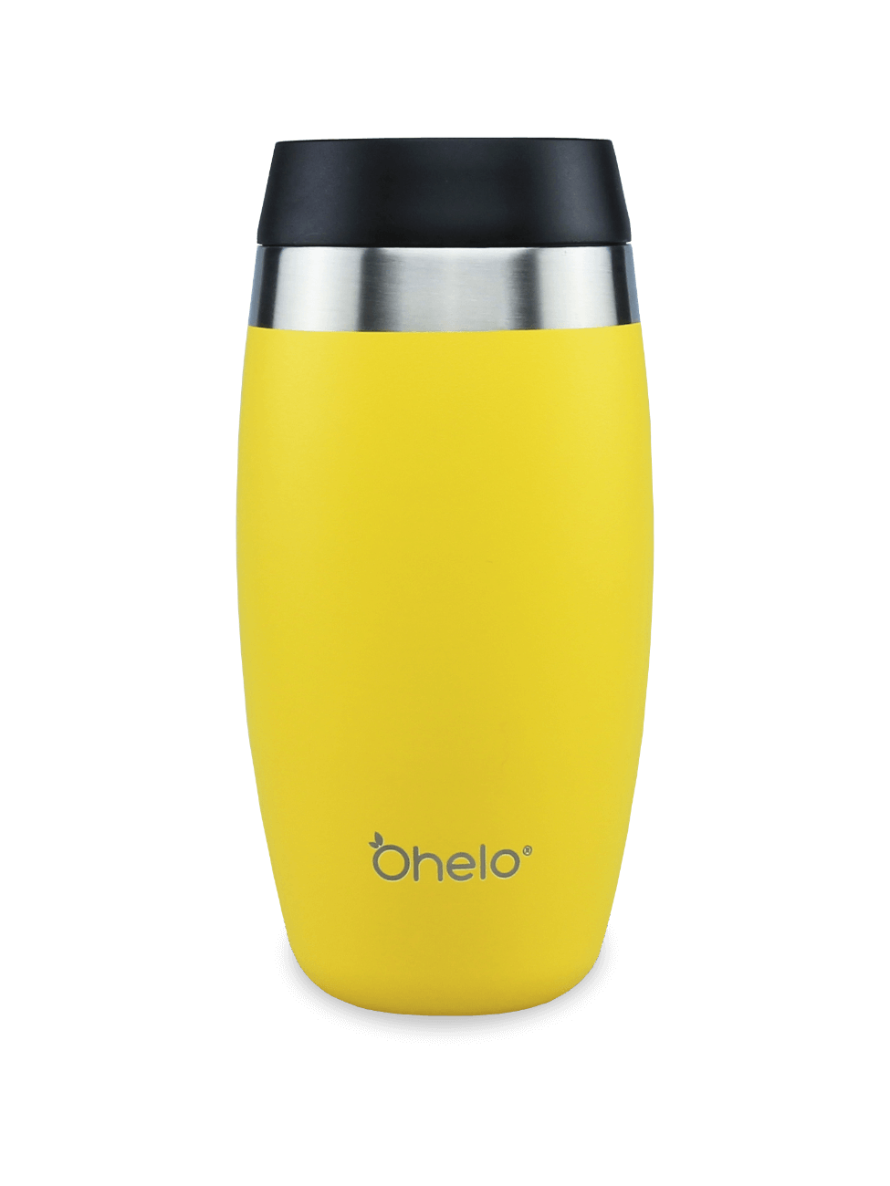 Ohelo insulated reusable tumbler 400ml yellow