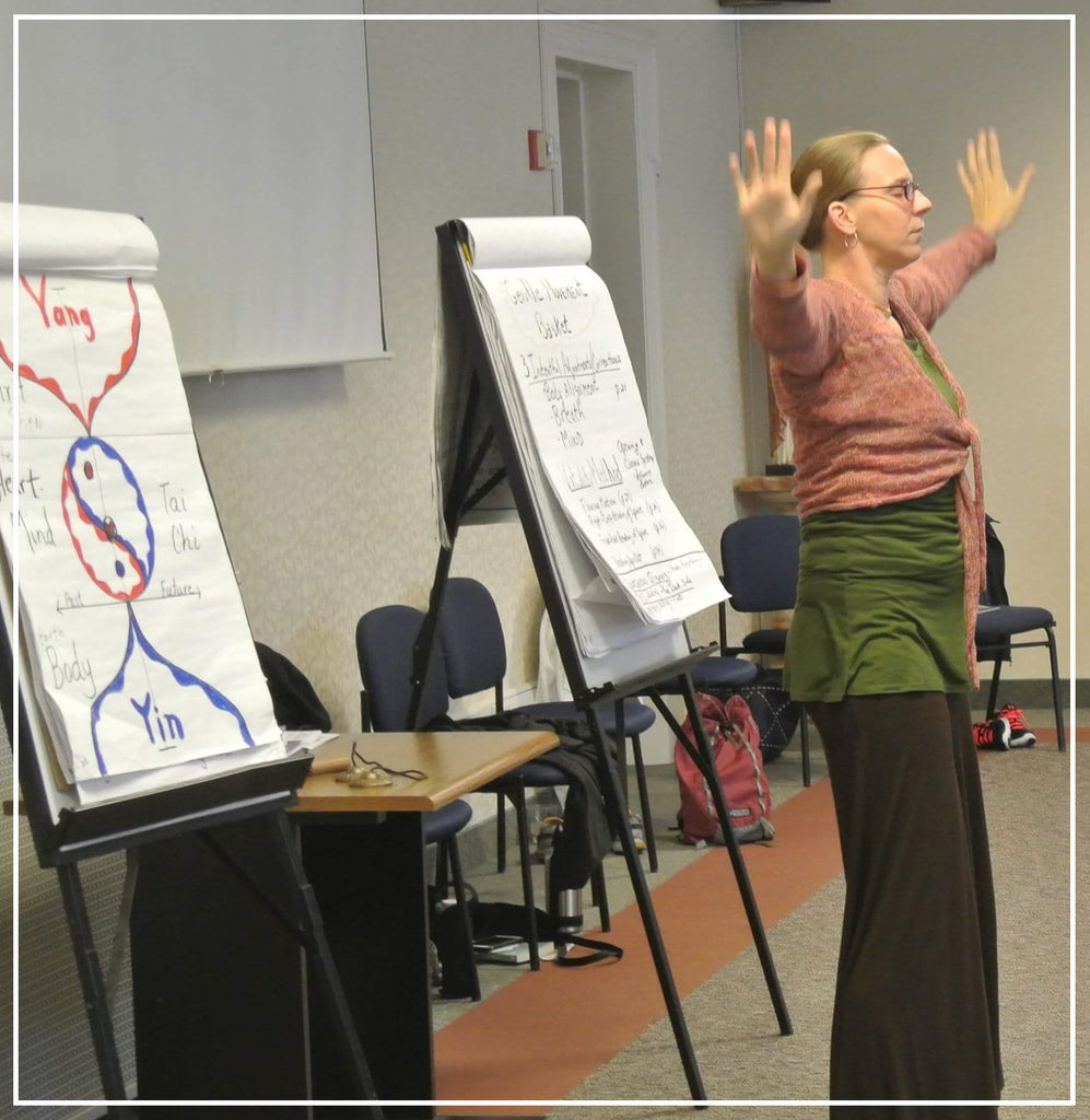 Inner Power Qigong Basics: 9 Phases Movement Form for Cultivating Vitality 7/20/2019 Kalamazoo, MI