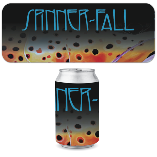 Spinner Fall Can Koozie - Zeppelin