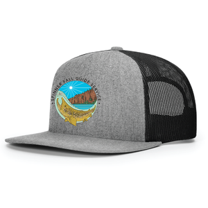 Spinner Fall Hat - Grey / Black with Casey Underwood Art