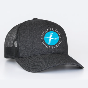 Spinner Fall Hat - Heather Black