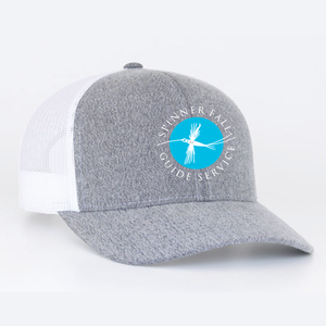 Spinner Fall Hat - Heather Grey / White
