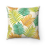 Colorful Tropical Palm Leaves Pillow Case Only - Pono Artworks