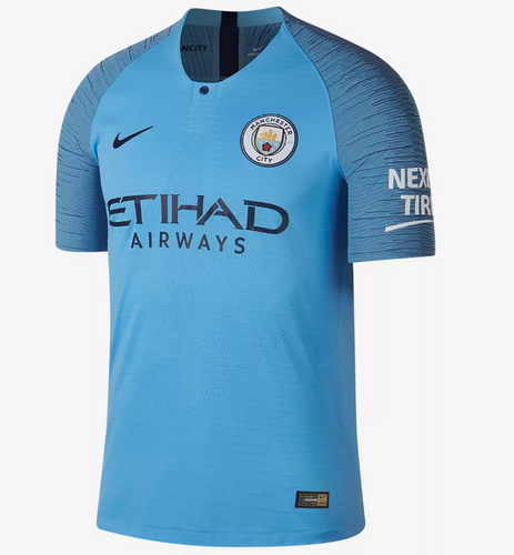 18/19 Manchester City Home Player Jersey