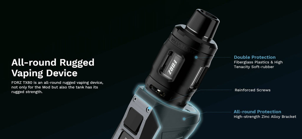 Vaporesso FORZ TX80 18650 80W Starter Kit With 4.5ML FORZ Tank 25