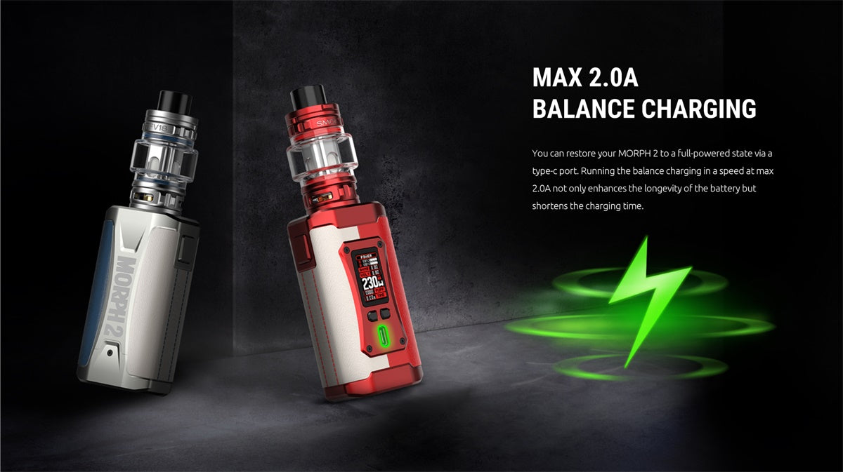 SMOK-MORPH-2-230W-18650-Starter-Kit-With-Refillable-7.5ML-TFV18-Tank-SmokTech