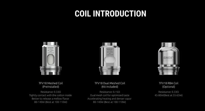 SMOK-TFV18-Replacement-Coils-Smoktech-Tank