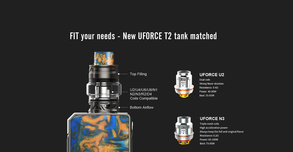 VOOPOO Drag 2 Platinum Starter Kit