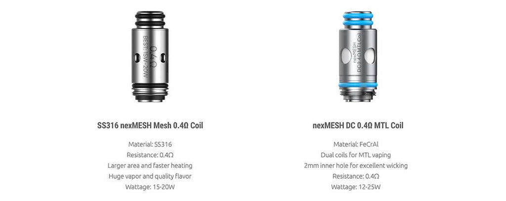 SMOK x OFRF nexMESH Replacement Coil