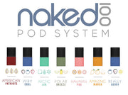 Naked 100 Flavor Pods (4 Pack) - All Puffs