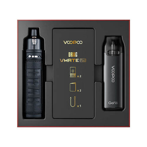VooPoo Drag X & VMate Pod System - Limited Edition Gift Set - All Puffs