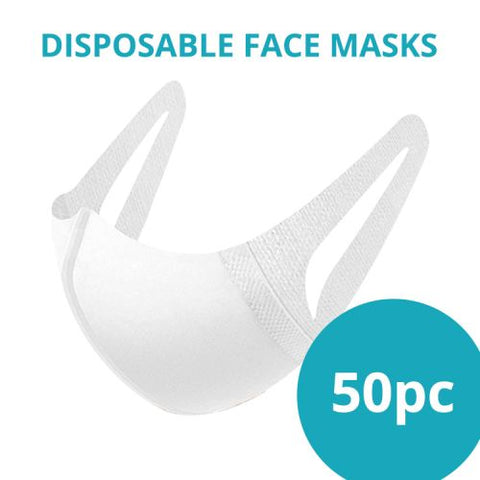 Disposable Face Masks Pack of 50 - All Puffs