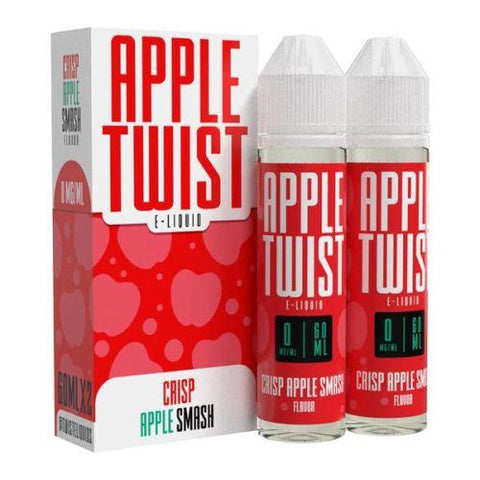 Crisp Apple Smash - Twist E-Liquid 120ml - All Puffs