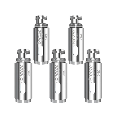 Aspire Breeze 5PK Replacement Coils - All Puffs