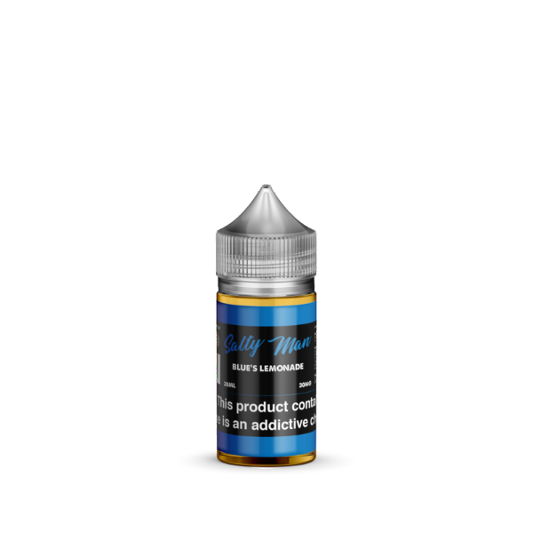 Blue's Lemonade Salt Nicotine By Salty Man 30ml - All Puffs