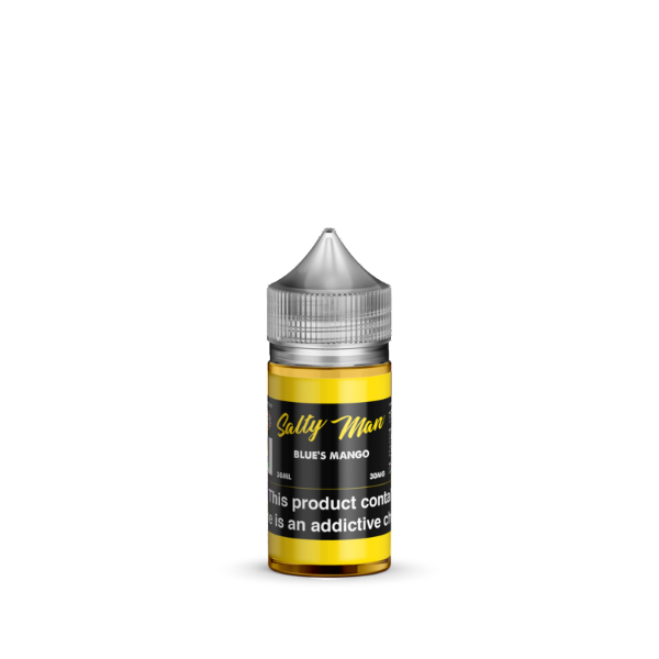 Blue's Mango Salt Nicotine By Salty Man 30ml - All Puffs