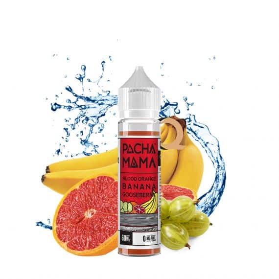 Blood Orange Banana Gooseberry by Pachamama 60ml - All Puffs