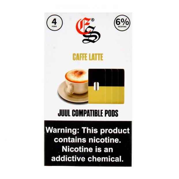EonSmoke JUUL Compatible Pods 6% (4 Pack)