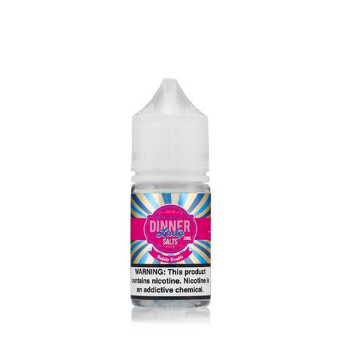 Dinner Lady Bubble Trouble Premium Salt Nicotine - All Puffs