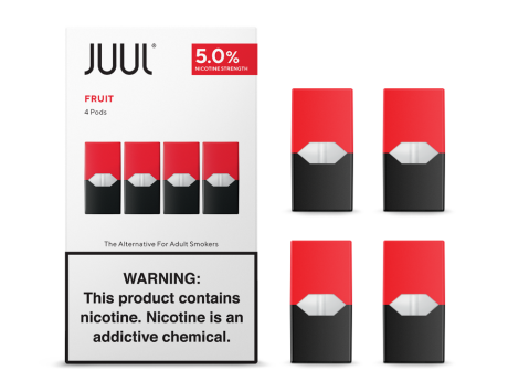 JUUL Pods 4 Pack (5%) - All Puffs