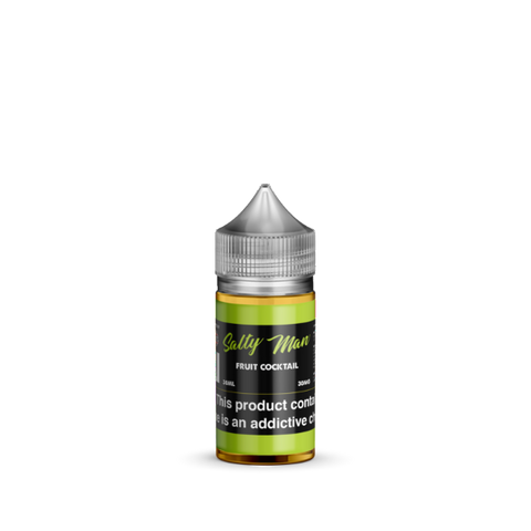 Fruit Cocktail Salt Nicotine By Salty Man 30ml - All Puffs