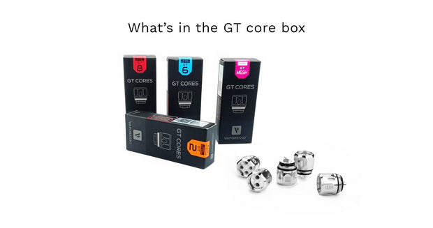 Vaporesso GT Core Replacement Coils for NRG Tank - 3PK