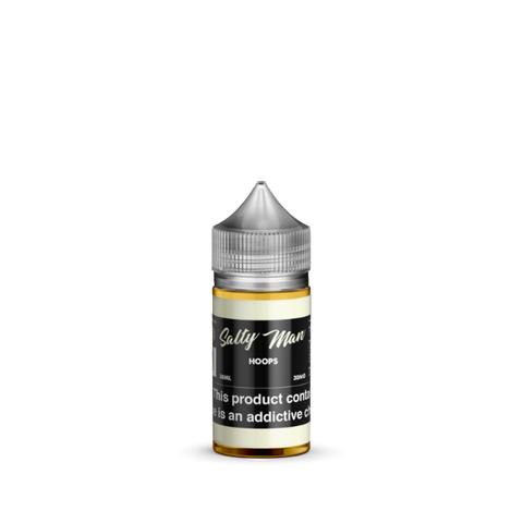 Hoops Salt Nicotine By Salty Man 30ml - All Puffs