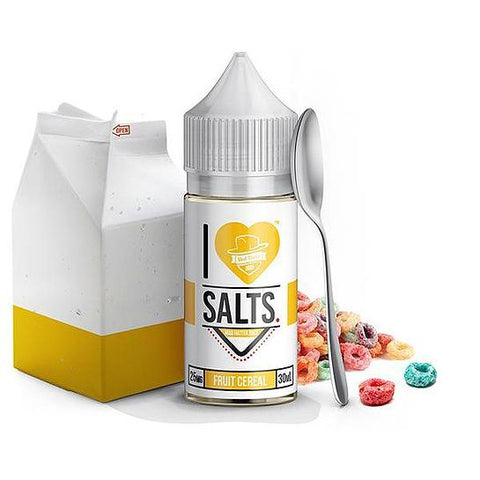 Fruit Cereal I Love Salts Nicotine Salt E Liquid By Mad Hatter 30ml - All Puffs