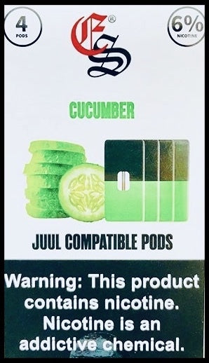 EonSmoke JUUL Compatible Pods 6% (4 Pack) - All Puffs