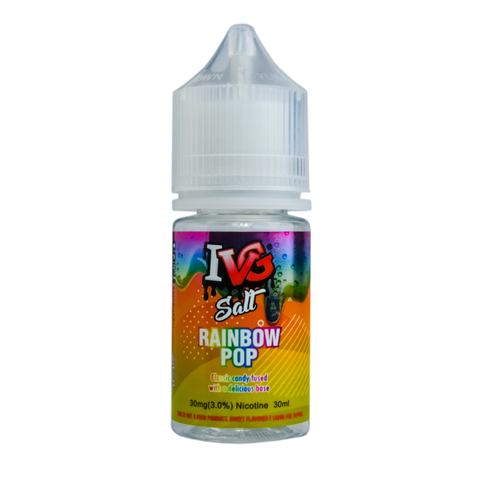 IVG Rainbow Pop Salt Nicotine - All Puffs