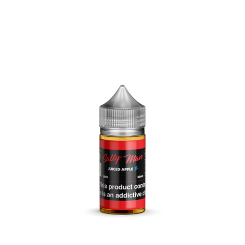 Juice Apple Ice Salt Nicotine By Salty Man 30ml - All Puffs