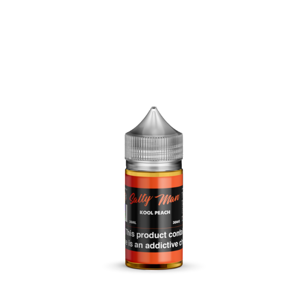 Kool Peach Salt Nicotine By Salty Man 30ml - All Puffs