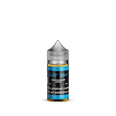Marshmallow Crispy Salt Nicotine By Salty Man 30ml - All Puffs