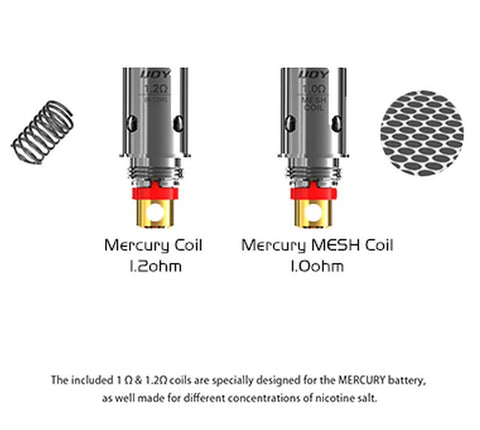 iJoy Mercury Replacement Coils - All Puffs