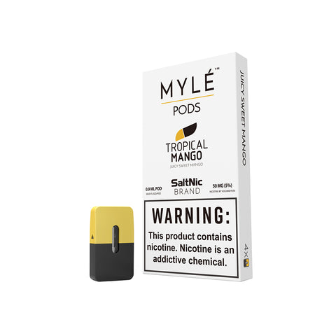 Tropical Mango Vape Pods by MYLÉ