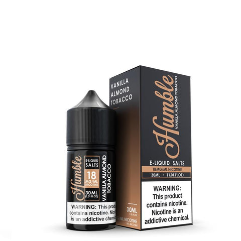 Vanilla Almond Tobacco Nicotine Salt By Humble Juice Co. - 30ML - All Puffs