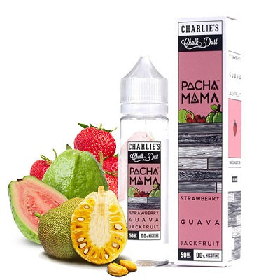Strawberry Guava JackFruit by Pachamama E-Juice 60ml - All Puffs