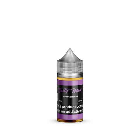 Purple Reign Salt Nicotine By Salty Man 30ml - All Puffs