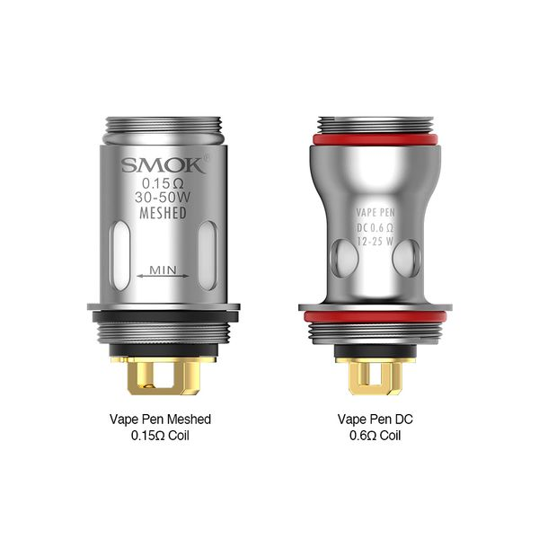 SMOK Vape Pen V2 Replacement Coils - Pack of 5 - All Puffs