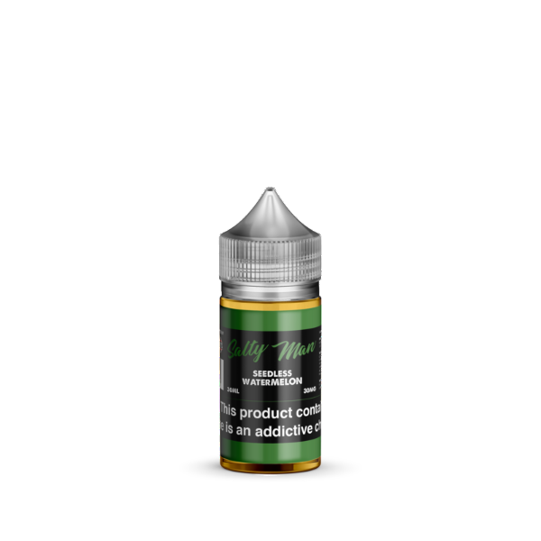 Seedless Watermelon Salt Nicotine By Salty Man 30ml - All Puffs