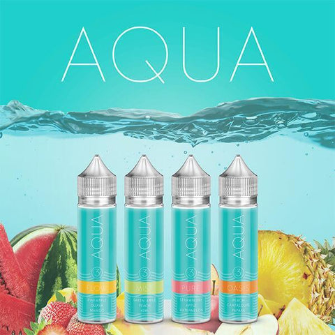 Pure Ice - Aqua E-Liquid 60ml - All Puffs