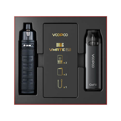 VooPoo Drag S & VMate Pod System - Limited Edition Gift Set - All Puffs