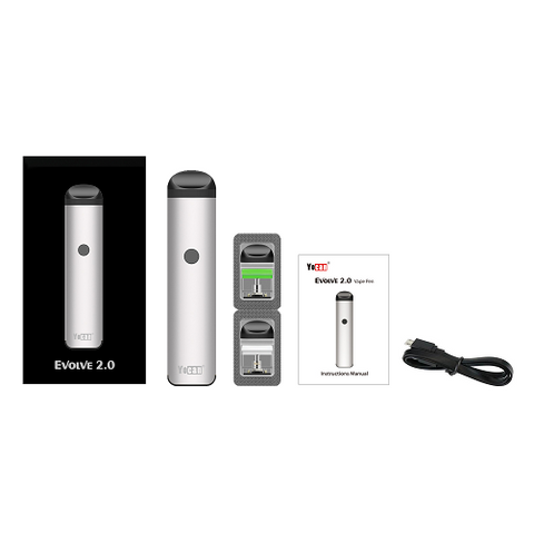 Yocan Evolve 2.0 Pod System 3 in 1 Starter Kit - All Puffs