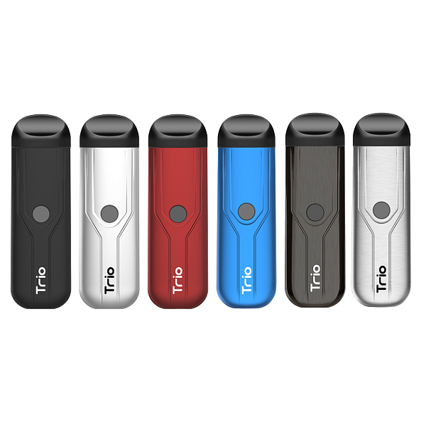 Yocan Trio 3-in-1 Vaporizer Refillable Pod Kit - All Puffs