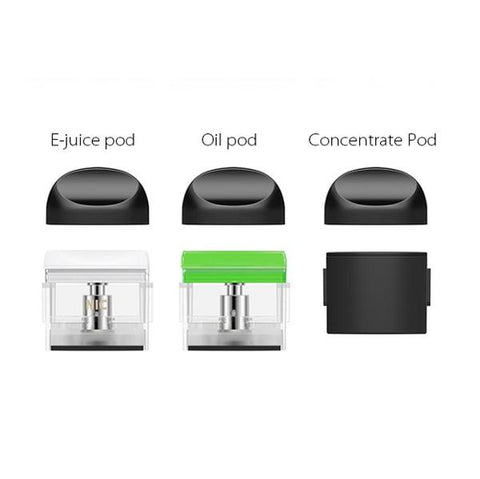 Yocan Trio Replacement Pods - Pack of 4 - All Puffs