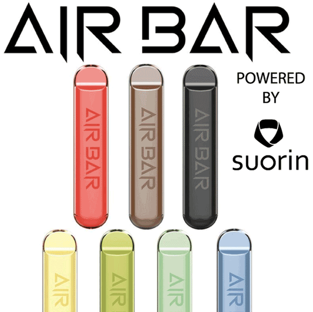 Air Bar Disposable Pod Powered by Suorin - All Puffs